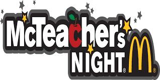 McTeachers Night - McDonalds